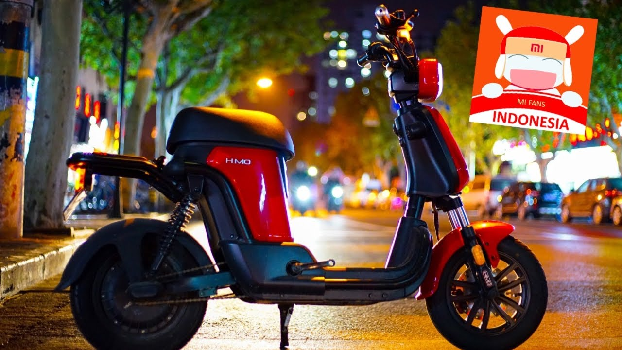 Himo T1 Indonesia Motor Scooter Xiaomi Review Highlight Ala Kadar Icase Youtube