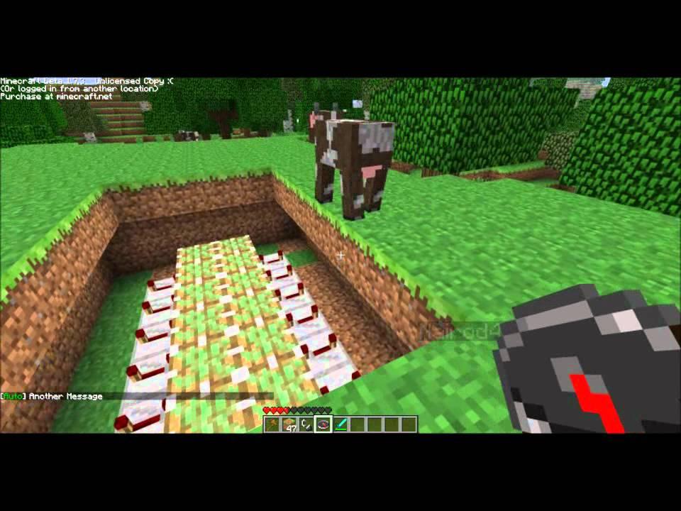 Minecraft tuto comment faire un pont levis youtube - Faire un lit minecraft ...
