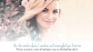 Repeat youtube video Demi Lovato - Skyscraper (Lyrics)