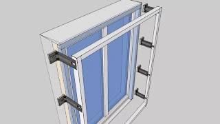 Откосы(Небольшая зарисовка как будут смонтированы откосы на бетонный дом с внешнем утеплением 200 мм и вент фасадо..., 2016-08-10T15:04:42.000Z)
