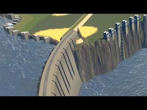 When City Planning in Cities Skylines drains The Atlantic Ocean