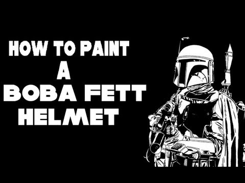 How to paint a boba fett helmet, Episode 1
