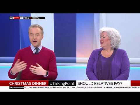 Is it ok to charge for Christmas lunch? Sky News