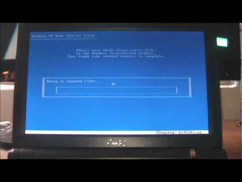 How To Install Windows From A USB Flash Drive.
