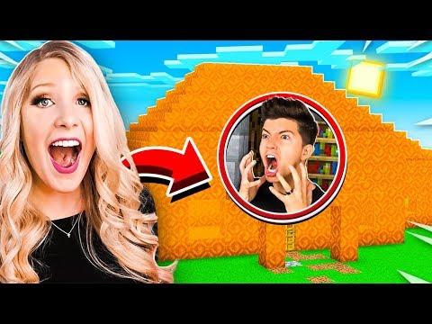 9 Ways To Prank PRESTON's Minecraft House!