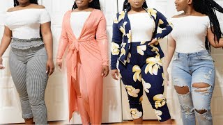 ➣ HUGE Curvy/Thick Try On Haul | GITI ONLINE , SHEIN, ROMWE, BOOHOO, URBAN PLANET..-  (+Size)