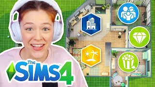 Trying The Sims 4 But Every Room Is A Different Pack Challenge   Part 2