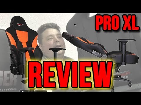 GT Omega Pro XL Racing Chair For Big Sexy Guys Like Us Product Review