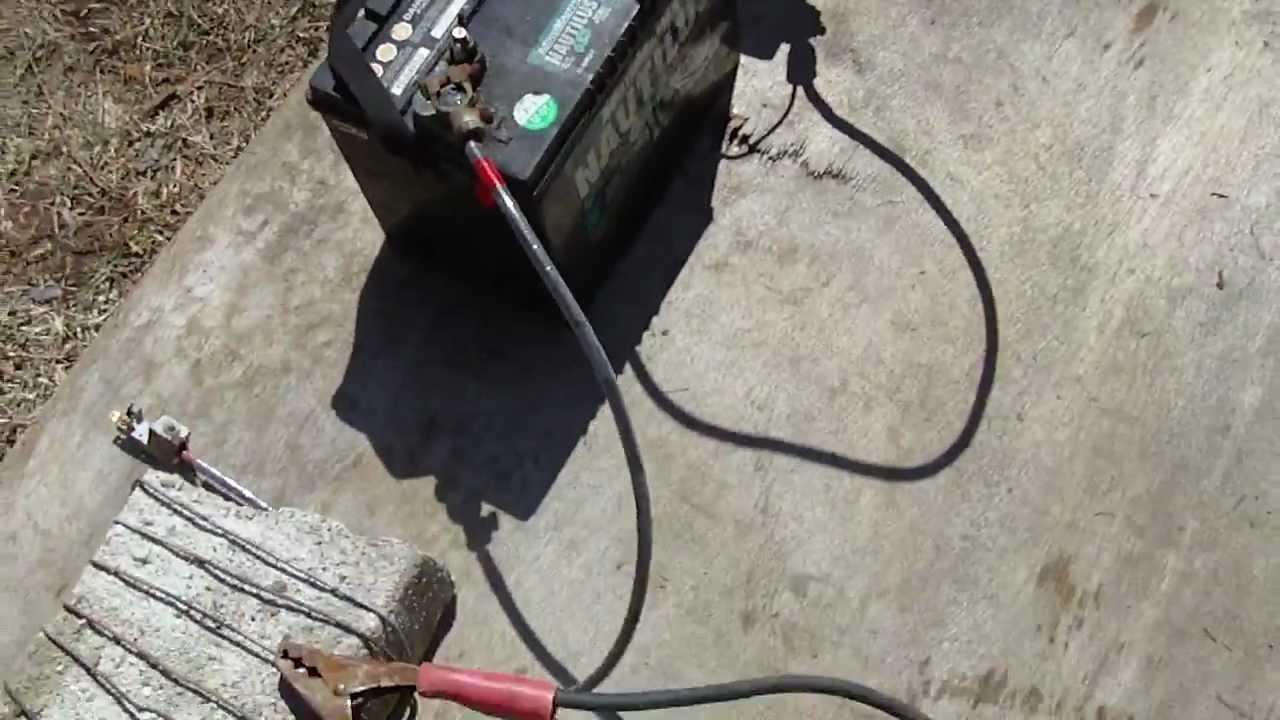 Battery Arc Welder Youtube