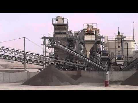 Qatar 350 t/hr Aggregate Sand Washing Plant by Ramill Tech (M) Sdn Bhd