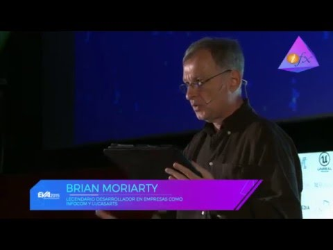 Brian Moriarty (LucasArts, Infocom)  - Loom Post-Mortem talk at EVA 2015 (Argentina)