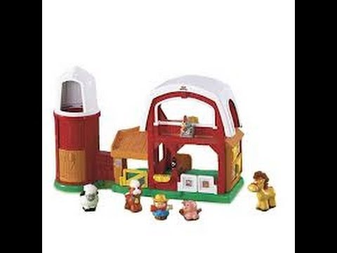 Fisher Price Little People Animal Sounds Farm Product Review Youtube