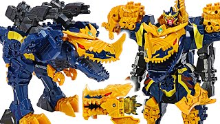 Power Rangers Knight Dragon Sentai EX Coalition DX Kishiryujin dinosaur transform! | DuDuPopTOY