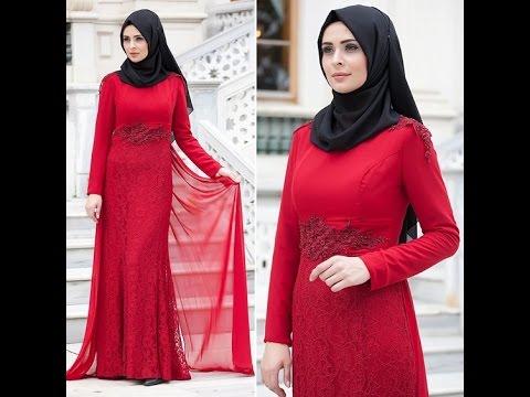 eaff63bb85 Maxi Dress Hijab Lookbook فساتين طويلة للمحجبات - YouTube