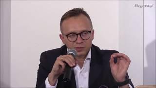 Program Mieszkanie+ przedstawił Wiceminister Inwestycji i Rozwoju Artur Soboń (Klub Ronina)