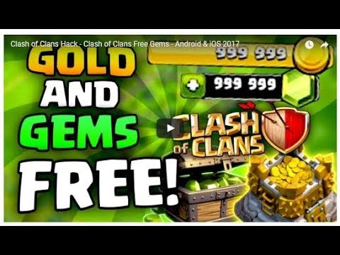 How to hack clash of clans(real trick working 100%)!!
