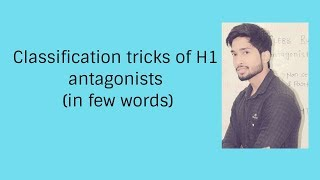 Classification tricks of H1 antagonists