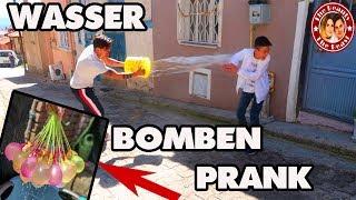 PRANK WASSERBOMBEN ATTACKE - WATER BALLON PRANK | TBATB