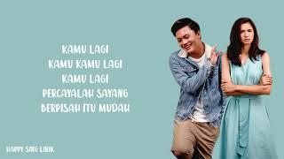 Berpisah Itu Mudah - Rizky Febian & Mikha Tambayong (Lirik)