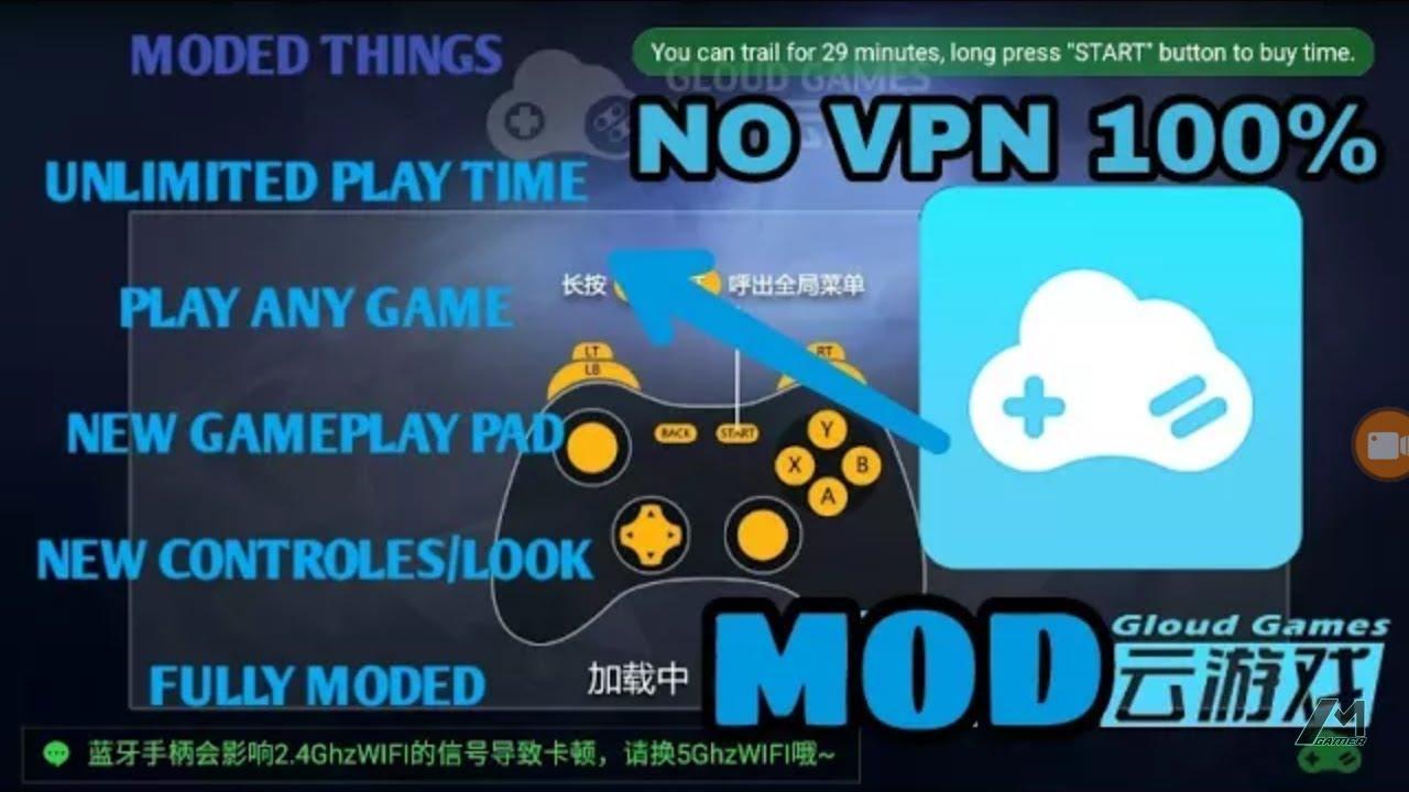 Download Gloud Game Mod Apk No Vpn Unlimited Games Play