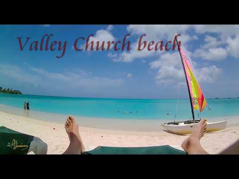 Caribbean 2017: Antigua, Valley Church, Runaway, Fort Beaches