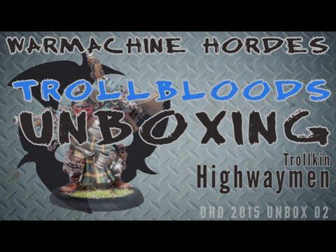 Trollbloods Unboxing 002: Trollkin Highwaymen - My Year of the Trollbloods 002