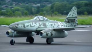 ME-262 Radio controlled 2xTurbine Modell Jet Interlaken SM