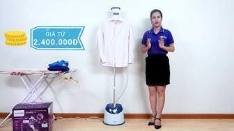Bàn ủi hơi nước đứng Philips GC518 - Quần áo phẳng phiu không khó   Điện máy XANH