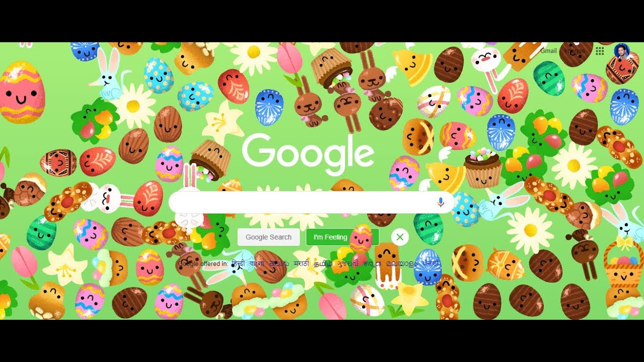 Animated Google Doodle and easter eggs wish you a 'Happy ...