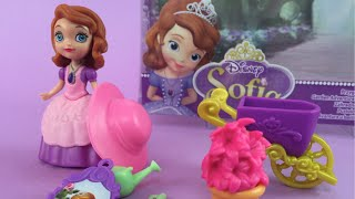 Disney Princess Sofia The First Garden Adventure Wheelbarrow Spade and Flower Pot
