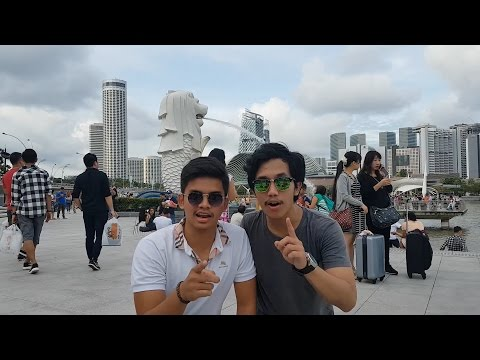Walking around Orchard and Merlion @Singapore #day2 #Fvlog