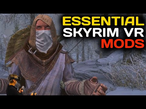 The 3 MOST ESSENTIAL Mods For SKYRIM VR IMMERSION & FUNCTIONALITY