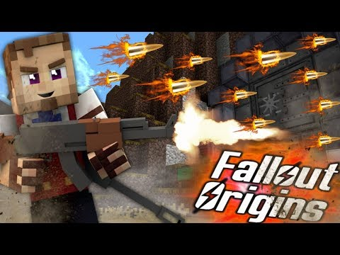 FLAMING AMMO SCIENCE! Minecraft FALLOUT ORIGINS #7 ( Minecraft Roleplay SMP ) thumbnail