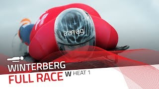 Winterberg | BMW IBSF World Cup 2019/2020 - Women's Skeleton Heat 1 | IBSF Official
