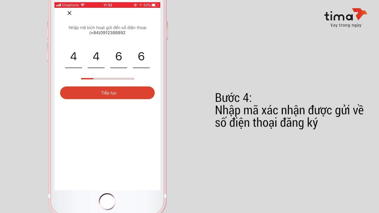 Hướng dẫn Đăng ký tài khoản người cho vay trên app TIMA