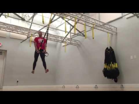Monday Move - TRX Squat Jump