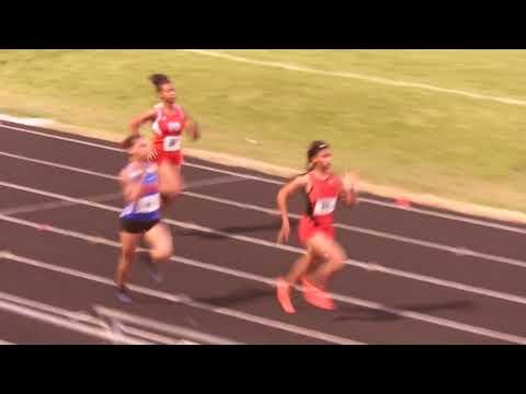Zahria Jones 200m prelim Greenville County Championships