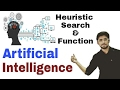 heuristic search and function | Artificial Intelligence | (Eng-Hindi) | #15