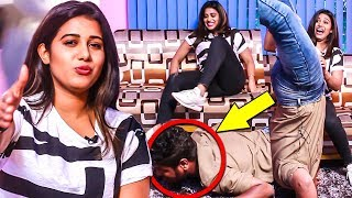 """**THA ம*** என்னடா பண்ற"" - Shilpa Manjunath Plays Kiss Me😘 Hug Me🤗 Slap Me👋 | KHS"