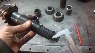 Старый метод -  замена упорной втулки на ведущей шестерне (хвостовик) - ГАЗЕЛЬ