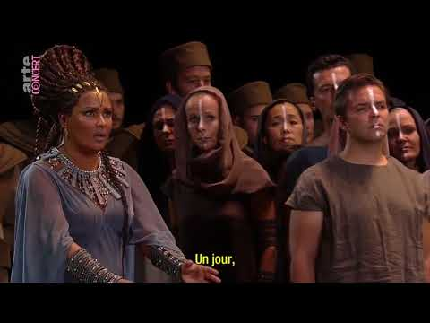 Gloria all'Egitto - Aida - Salzburg Festival - 2017 (HD) - Anna Netrebko - Triumphal Finale