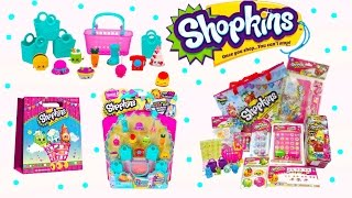Shopkins Season 3 News Ice Cream Truck Playset 12 Packs Activity Sets New Toys Review Cookieswirlc