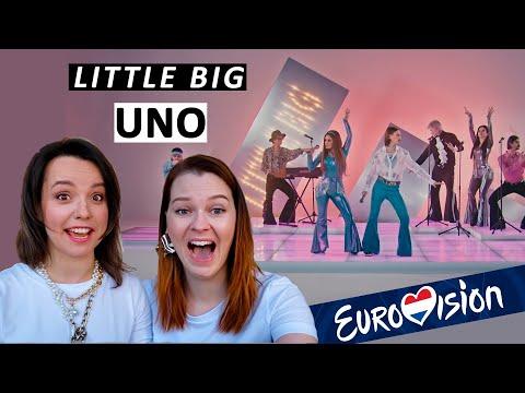 Смотрим впервые клип Little Big - UNO. Реакция, разбор образов в прямом эфире Eurovision 2020 Russia