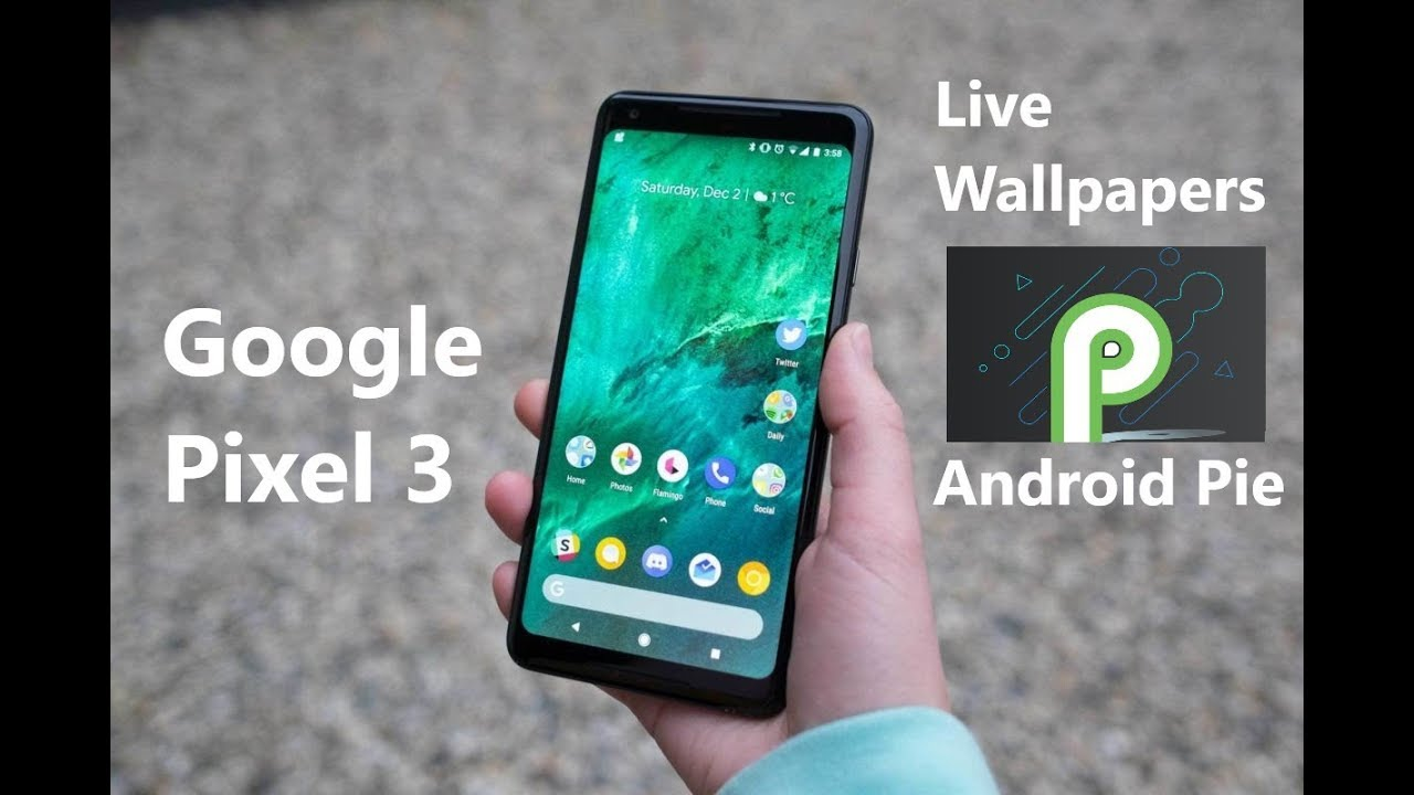 Google Pixel 3 Live Wallpapers First Look - Android Pie (Download link in  the description)
