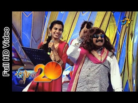 Mano and Sravana Bhargavi Performs - Vaaji Vaaji Song in Vijayanagaram ETV @ 20 Celebrations