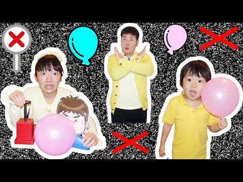 ★「夜に風船しちゃダメ!」風船ミステリードラマ★Balloon mystery★