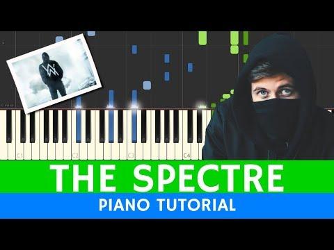 Alan Walker - The Spectre - PIANO TUTORIAL (BEST VERSION)