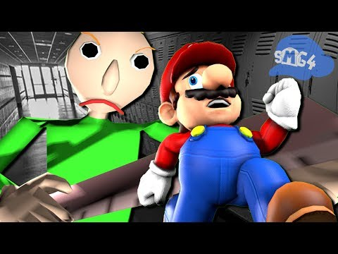 SMG4: If Mario was in... Baldi's Basics
