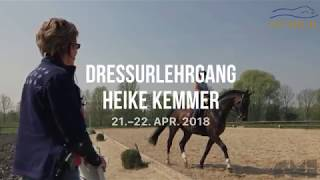 Dressurlehrgang Bei Heike Kemmer April 2018 Starck Reitanlage Youtube