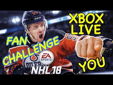 NHL 18 Xbox One Fan Challenge Contest Hockey Dad takes on Carter